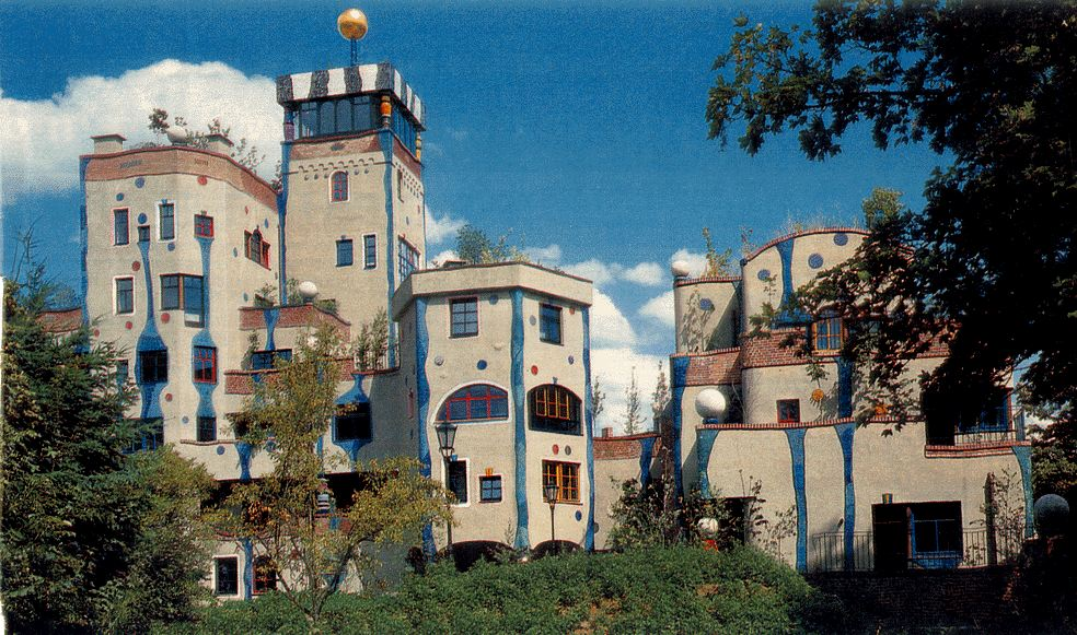 1000 images about hundertwasser architecture on pinterest for Design hotel taunus